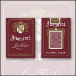 Bicycle Aristocrat 727 Bank Note Cards (Red) by USPCC