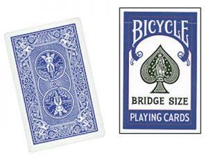 Cards Bicycle Bridge (Blue)