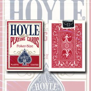 Cards Hoyle Poker deck (red) USPCC