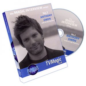 Anthony Owen Talks To Jay Fortune No.2 (The Magic Interview Series)