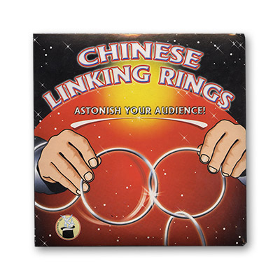 Chinese Linking Rings (5 inch) by Vincenzo Di Fatta s