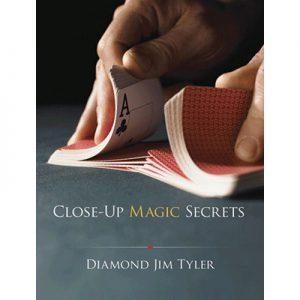 Close-Up Magic Secrets by Diamond Jim Tyler - Book