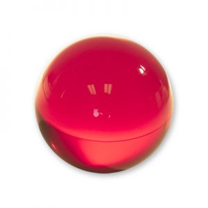 Contact Juggling Ball (Acrylic, RUBY RED, 65mm)