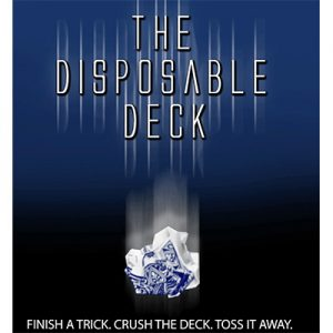 Disposable Deck 2.0 (blue) by David Regal