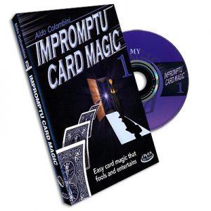 Impromptu Card Magic #1 Aldo Colombini, DVD