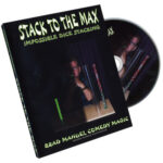 Stack To The Max - Impossible Dice Stacking by Brad Manuel - DVD