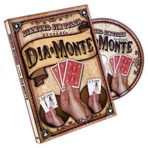 DiaMonte (DVD and Cards) by Diamond Jim Tyler - DVD