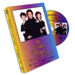 Art of Costume Changing (Yasuda) Greater Magic #59 -DVD