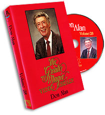 Greater Magic Video Library Vol 28 Don Alan - DVD
