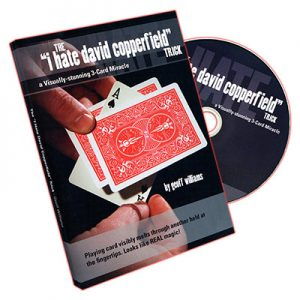 I Hate David Copperfield Trick by Geoff Williams - DVD