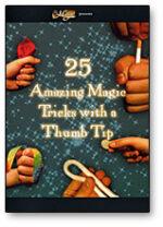 (HR) 25 Amazing Magic Tricks with a Thumbtip, DVD