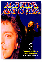Magic on Stage Mcbride- #3, DVD by L&L Publishing