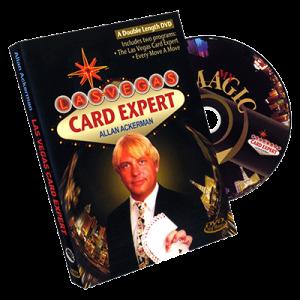Las Vegas Card Expert by Allan Ackerman - DVD