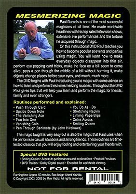 Mesmerizing Magic by Paul Daniels - DVD