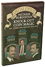 Knock Out Coin Magic Michael R, DVD