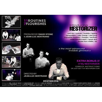 Nestor Hato (DVD and Nestorizer Gimmick) by Jean-Luc Bertrand and David Stone - DVD