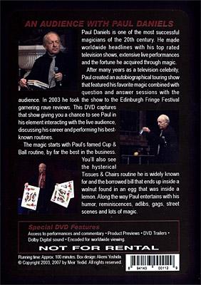 An Audience With Paul Daniels by Paul Daniels - DVD