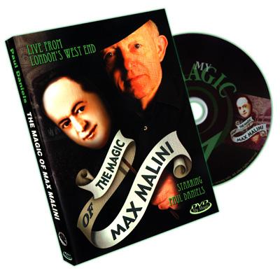 The Magic of Max Malini by Paul Daniels - DVD