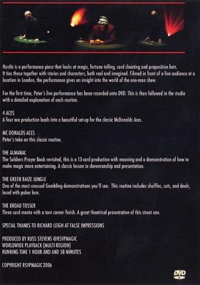 Hustle by Peter Wardell & RSVP - DVD