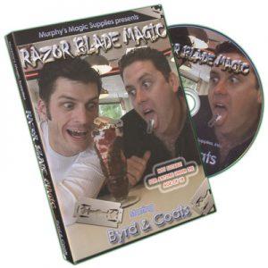 Razor Blade Magic by Byrd & Coats - DVD