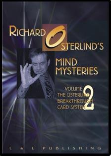 Mind Mysteries Vol. 2 (Breakthru Card Sys.) by Richard Osterlind - DVD