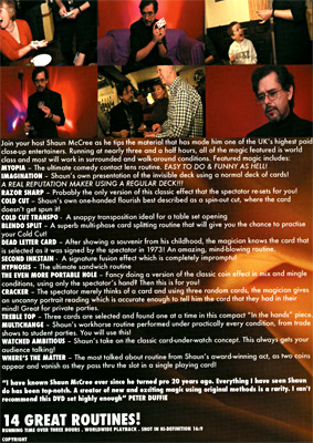 Mix N' Mingle (2 DVD set) by Shaun McCree & RSVP - DVD