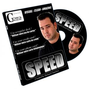 Speed (DVD and BLUE Bicycle Card) by Mickael Chatelain - DVD