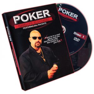Poker Cheats Exposed (2 Volume Set) by Sal Piacente - DVD