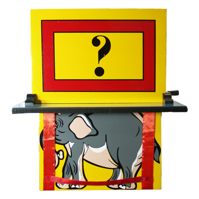 Elephant Vanish (back Stage) by Premium Magic