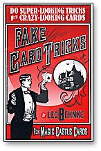 Fake Card Tricks by Leo Behnke