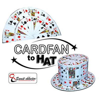 Fan to Hat (Card) by Sumit Chhajer