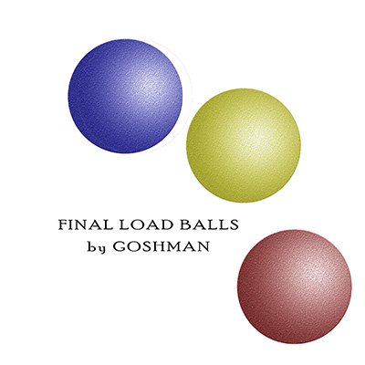 Final Load Balls (Set of 3) by Goshman