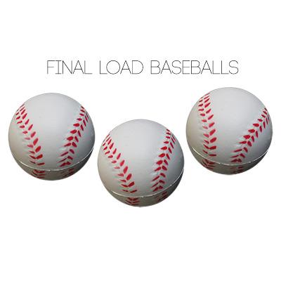 Final Load Base Balls 2.5 inch (3pk) - by Big Guy's Magic