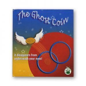 Ghost Coin (Rings & Coin trick) by Vincenzo Di Fatta s