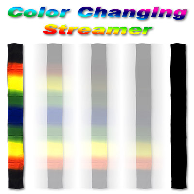 Color Changing Streamer Silk from Magic by Gosh