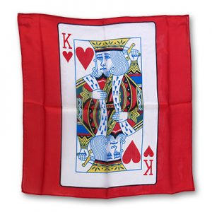 Silk 18 inch King of Hearts Card from Magic by Gosh
