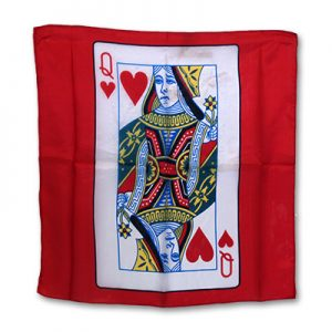 Silk 18 inch Queen of Heart Card from Magic by Gosh