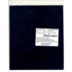 Flash Paper five pack(25x20cm) Black
