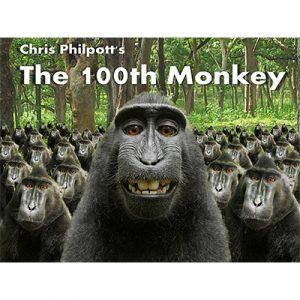 100th Monkey (2 DVD Set with Gimmicks) by Chris Philpott