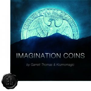 Imagination Coins Euro by Garrett Thomas and Kozmomagic - DVD