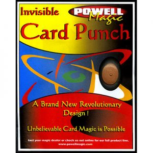Invisible Card Punch by Dave Powell