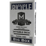 Jumbo Invisible Deck Bicycle (Blue)