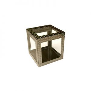 4 inch Crystal Clear Cube by Ickle Pickle