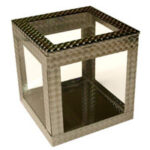 6 inch Crystal Clear Cube by Ickle Pickle