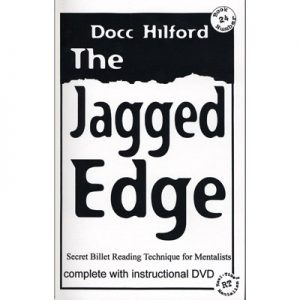Jagged Edge (With DVD) by Docc Hilford - Book