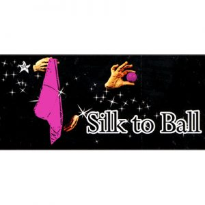 Silk to Ball pink (Automatic) by JL Magic