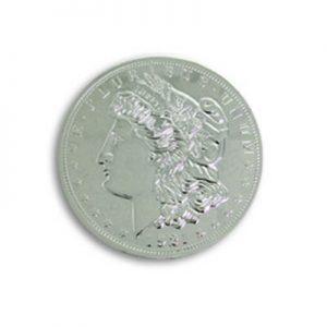 Jumbo 7 Morgan Chrome Dollar