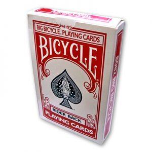 Jumbo Rising Card (Red Bicycle) - TRICK