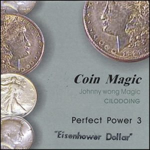 Perfect Power Eisenhower Dollar by Johnny Wong