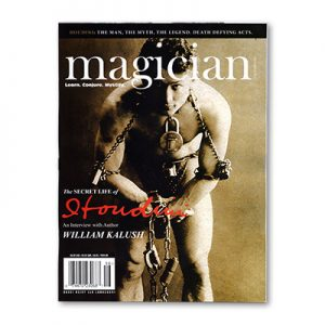 Magician Magazine HOUDINI Issue - Book